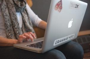 Grammar Nerd Typing